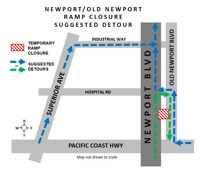 Newport OldNewport Closure