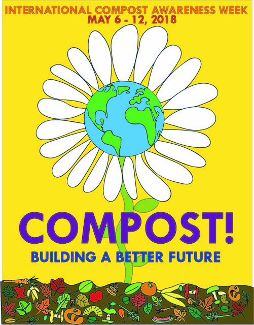 May 2018 International Compost Awareness Week  biosolids compost recycling sewage sludge land application