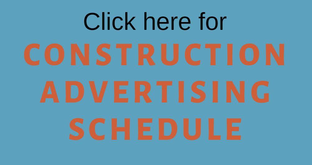 Construction Advertising Schedule | Orange County Sanitation